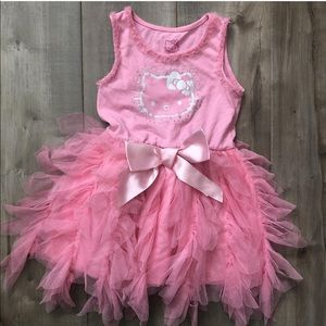 EUC 4T Hello Kitty dress